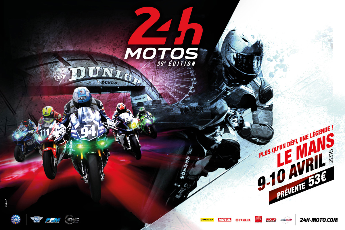 2016 présent au 24H MOTO